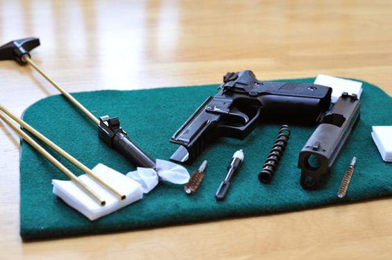 čištění zbraní
